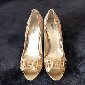 Guess stiletto heels.